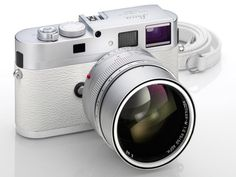 """The rare white variant of Leica's M9-P. Some are calling it the """"Unicorn"""" of cameras will set you back $31,770."""
