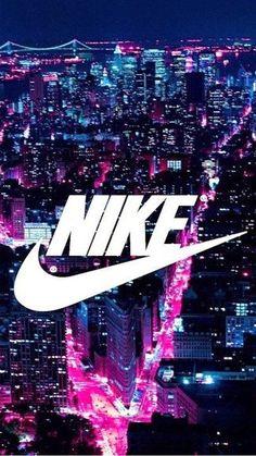White Nike Logo iPhone 6 / 6 Plus wallpaper