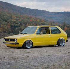 Beetles Volkswagen, Volkswagen Golf Mk1, Vw Mk1, Vans Vw, Vw Cabriolet, Golf 2, Yellow Car, Fitness Gifts, Celebrity Travel