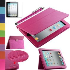Pandamimi ULAK(TM) Hot Pink PU Folio Leather Case Cover with Built-in Stand for Apple iPad 1 1st Generation + Screen Protector + Hot Pink Stylus by ULAK, http://www.amazon.com/dp/B00CHF4AEI/ref=cm_sw_r_pi_dp_COjBsb1JKDEJ0