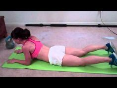 5 Minute Ab Workout (Real Time interval): Melissa Bender Fitness
