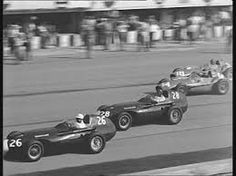 Italy GP 1958 (Monza) Vanwall VW5   #26 Stirling Moss > nc #28Tony Brooks > winner