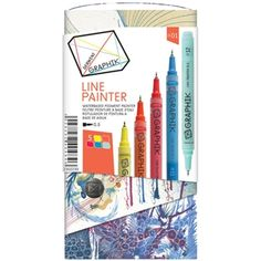 Derwent GRAPHIK LINE PAINTER Palette 1 Set 2302230