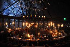 Beautiful Yule festival in Scotland