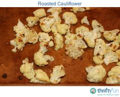 If you have never had roasted cauliflower you have to try it! It is so easy to make and it makes a perfect side dish.