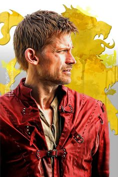 Jamie Lannister ~ House Lannister Sigil | Game of Thrones - by Hilary Heffron, Hilarious Delusions