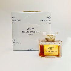 Sealed Vintage Joy NOS NIB Sealed Vintage Patou Pure Perfume Ref 1104 / 1/2 oz  Vintage Perfume, Joy Perfume Bottle, Vintage French Perfume