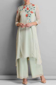 Lining: Viscose Care Instructions: Dryclean only. Pakistani Dress Design, Pakistani Dresses, Indian Dresses, Indian Outfits, Party Wear Dresses, Event Dresses, Modest Fashion, Fashion Dresses, Kurtha Designs