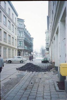 Rostock - Warnemünde im Januar 1983