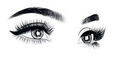 Glitter Background, Background Images, Eyelashes, Eyebrows, Drawing Clipart, Eye Makeup Steps, Hooded Eyes, Clipart Images, Cartoon Images