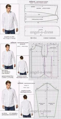 Mens Sewing Patterns, Sewing Men, Sewing Clothes, Clothing Patterns, Diy Clothes, Pattern Sewing, Sewing Coat, Sewing Shirts, Sewing Pants