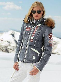 karea-d alum jacket with fur-Bogner (Gorsuch) 5dfd66597