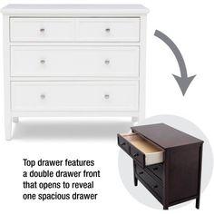 Delta Children Epic 3-Drawer Dresser, (Choose Your Finish) Image 3 of 6