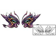 6e1b3c0f9 Eyes Tattoos DBF-00419 Created by David Bollt Wing Tattoo Designs, Tattoo  Shop,