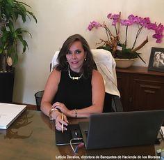 Leticia Dávalos Hacienda de los Morales Meeting Mexico