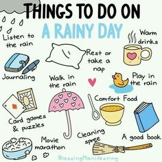 Things to do on rain