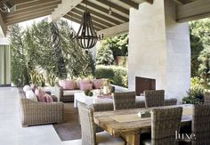 27 Spring-Ready Patios and Porches   LuxeDaily - Design Insight from the Editors of Luxe Interiors + Design