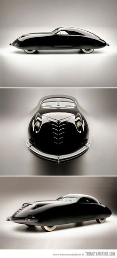 The 1938 Phantom Corsair - definition of classic and masterpiece