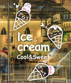 Icecream-Milktea-Shop-Removable-Shop-Wall-Window-Stickers-Vinyl-Sign-Decal-Decor