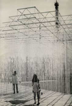 Jesús Soto's Penetrable, at the Musée d'Art Moderne de la Ville de Paris, 1969