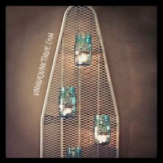 Unique Junktique: How To Repurpose An Ironing Board