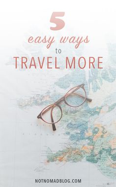 Work and travel tips: Making travel a priority doesn't have to distract you from work or drive you into bankruptcy: all it takes are a few simple tips to think differently about how you travel efficiently. Here's how I make sure I'm traveling regularly!
