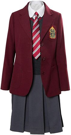 Gingham School Dress, Cosplay Costume, School Dresses, School Uniform, Violet, Halloween Costumes, Blazer, Jackets, Clothes