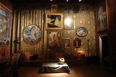 Studio room, Fortuny palace, Venice