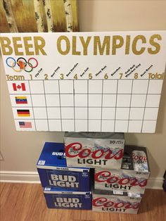 Bachelor party, Beer Olympics!
