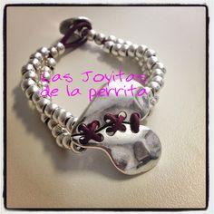 pulseras tendencia inspiracion coleccion moda bisuteria artesanal original zamak bolas cuero charms libelula joyeria mujer joven actual