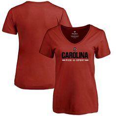 South Carolina Gamecocks Fanatics Branded Women's Custom Sport T-Shirt - Maroon