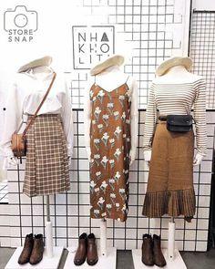Fine Outfit Ideas Korean To Copy Now outfit ideas korean, fashion Source by ideas korean Style Ulzzang, Mode Ulzzang, Ulzzang Fashion, Hijab Fashion, Fashion Outfits, Fashion Ideas, Cute Fashion, Modest Fashion, Girl Fashion