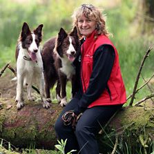 """Susan Garrett's interest in animal behaviour started at the University of Guelph where she earned a B.Sc. in Animal Science. Since then she as developed into a pre-eminent canine sports instructor and competitor. Susan's philosophy in dog training is to focus on what you """"want"""" from your dog, rather than what you don't want."""