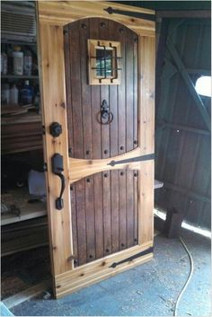 40+ stylish diy home decor ideas on a budget for dream house (19) « Dreamsscape #budget #decor #DIY #dream #dreamsscape #Home #house #ideas #stylish #RoomWallDecor Rustic Doors, Wood Doors, Rustic Interior Doors, Rustic Wood Decor, Rustic Exterior, Rustic Art, French Interior, Diy Lush, Steampunk Bedroom