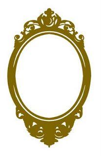 MTCSCAL e-files: antiques-mirror frame silhouette