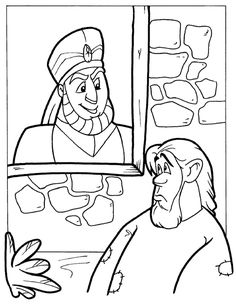 rich man and lazarus coloring page sketch coloring page