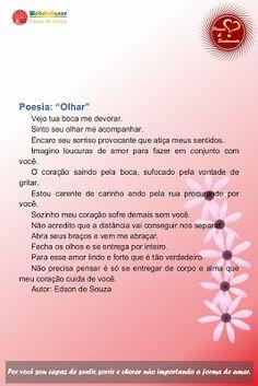 Poesia & Sentimento: POESIA 10Convido você a ler e avaliar minha obra p...