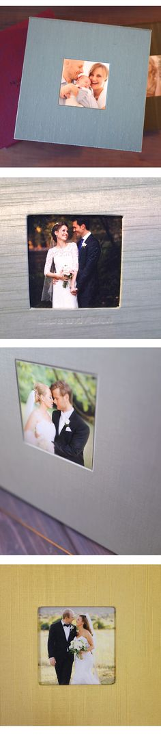 Add a cameo to one of your albums or boxes for added personalization!