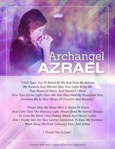 Spiritual Prayers, Prayers For Healing, Spiritual Guidance, Archangel Raphael Prayer, Archangel Prayers, Archangel Azrael, Archangel Zadkiel, Angel Guide, Angel Quotes