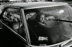 People in cars 1970, Photos by Mike Mandel