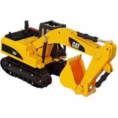 CAT Job Site Machines L&S Trucks Excavator