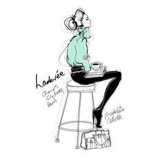 French Girl | Megan Hess | Lamington Drive