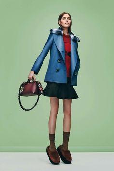 Enviable Outerwear Courtesy of Pre-Fall 2016   Fendi