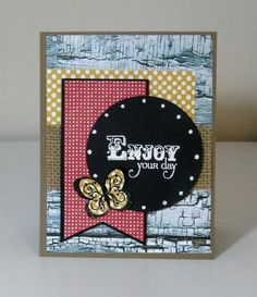 Card by Kalla Walla using Big Wish and Beautiful Kindness from Verve.  #vervestamps