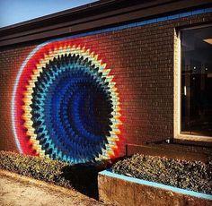3d Street Art, Street Art Graffiti, Graffiti Kunst, Murals Street Art, Amazing Street Art, Street Artists, Amazing Art, Graffiti Murals, Urban Graffiti