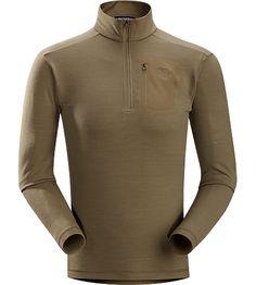 Rho LTW Zip Neck Men's MAPP Merino wool base layer jersey. Rho LTW layers provide a...