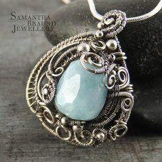 Mermaid Amulet Aquamarine by Samantha_Braund, via Flickr  http://www.samanthabraundjewellery.com/