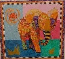 Ellie the Elephant applique wall quilt pattern - I would love to make ...