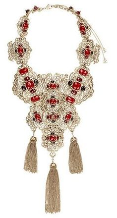 Chanel Pre-Fall 2010 Hand-Enameled Plastron Necklace Profile Photo