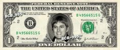 ROB THOMAS on REAL Dollar Bill - Singer - $1 Celebrity Bill Custom Cash $